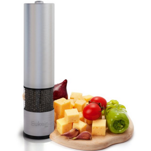 Eukein Automatic Electric Salt or Pepper Grinder Mill