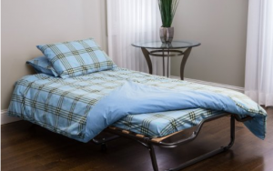 Folding Guest Bed - A great way to treat your overnight guest