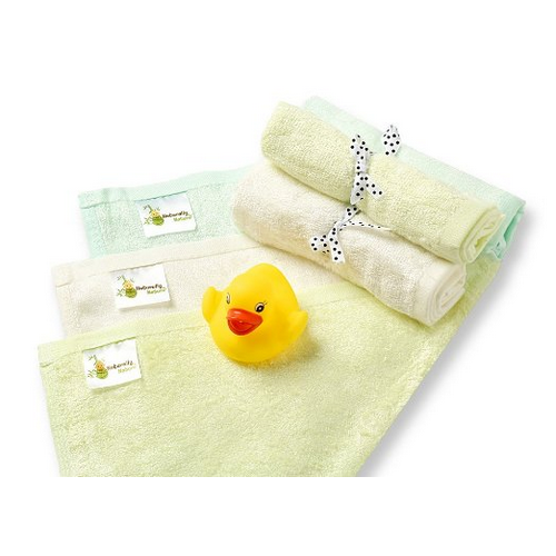 Naturally Natures Bamboo Baby Washcloths