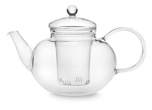 UEndure Tea Infuser Glass Teapot for Loose Leaf Tea