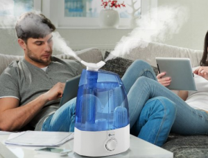 Ultrasonic Cool Mist Humidifier - Enjoy a clean, crisp and odorless air around you