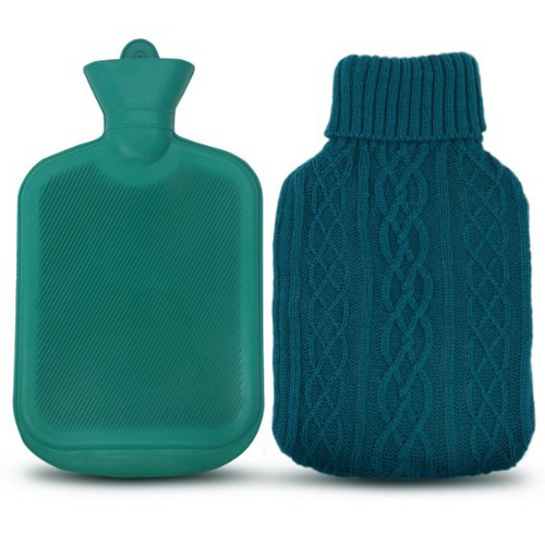AZMED Classic Hot Water Bottle Made of Premium Rubber
