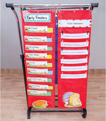 Carson Dellosa Storage Pocket Chart Pocket Chart