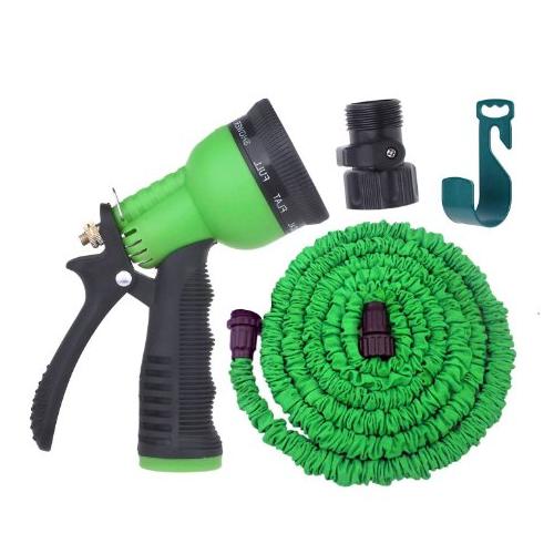 expandable garden hose by gardeniar 50ft green - Best Expandable Garden Hose