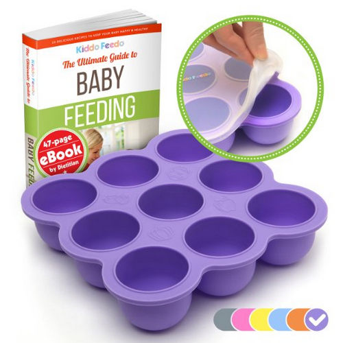 KIDDO FEEDO Baby Food Storage