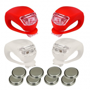 5 Best Silicone LED Bike Light -Be seen, be safe