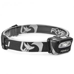 Foxelli Headlamp Flashlight
