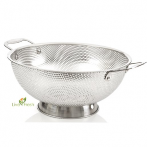 5 Best Micro Perforated Stainless Steel Colander – Simplify you straining tasks