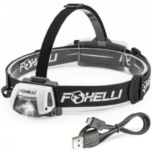 foxelli-usb-rechargeable-headlamp-flashlight