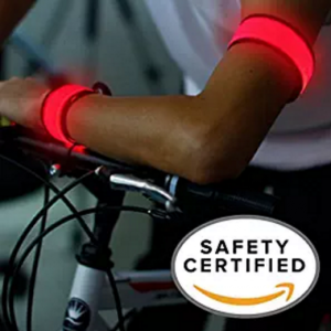 led-safety-slap-band-armband