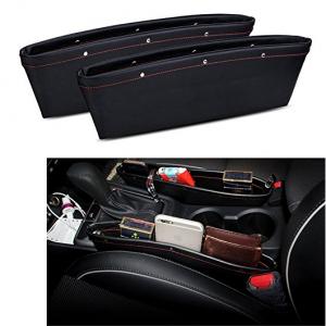 Car Seat Console Gap Filler Side Pocket Organizer