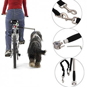 Adjustable Dog Bicycle Exerciser Leash Hands