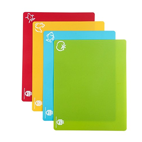 Chopping Board Mat Set of 4Extra Thick
