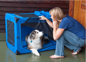 Folding Soft Dog Crate - Optimal comfort for your best friend