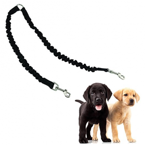 Mengar Pet Leash Double Dog Leash Coupler