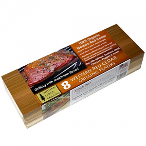 5 Best Cedar Grilling Planks – Enhance your food's flavor with a subtle hint of cedar