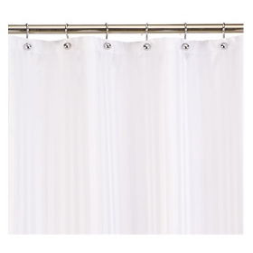 Need A Solution For Beating Shower Mold And Mildew Without Sacrificing Style The Kimberly Carr Home Designs Polyester Curtain Liner Is You