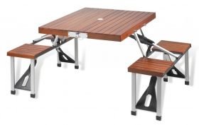 5 best folding picnic table enjoy great outdoor time tool box style and function come together in the picnic at ascot portable picnic table set this picnic table set is portable and easy to set up in 3 minutes without watchthetrailerfo