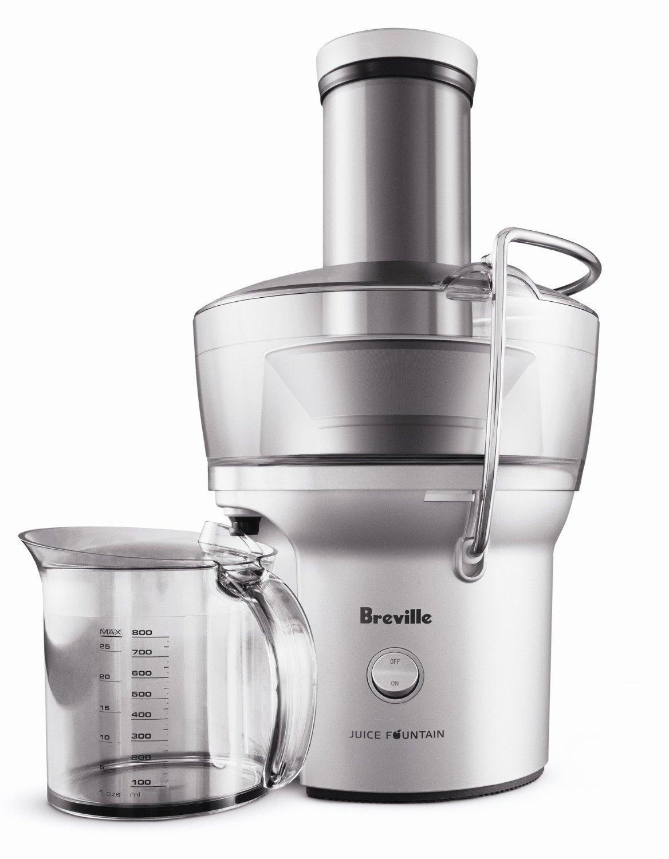 Breville BJE200XL Compact Juice Fountain 700-Watt Juice Extractor