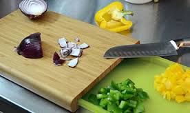 Casabella Chop'n Prep Bamboo Cutting Board
