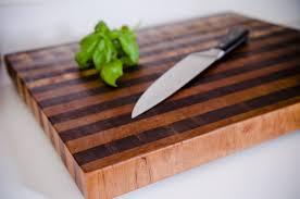 Cherry wood end grain cutting board