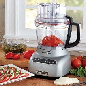 KitchenAid KFP1333CU 13-Cup Food Processor - Silver