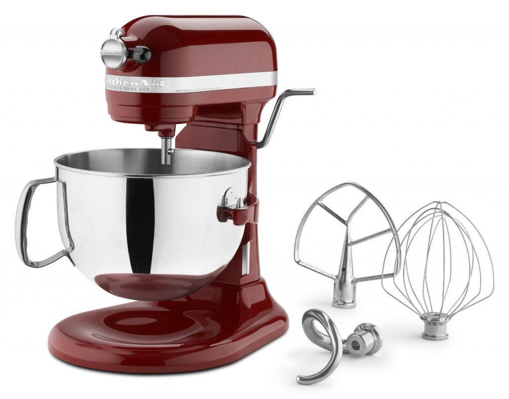 KitchenAid KP26M1PSL Professional 600 Series 6-Quart Stand Mix