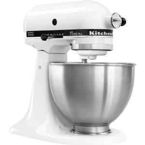 KitchenAid KSM75WH Classic Plus Tilt-Head
