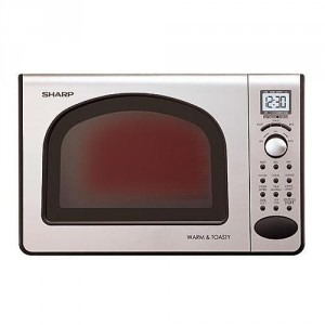 Sharp 0.5 Cubic Foot Microwave and Toaster Oven