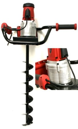 1200W 1.6HP Electric Post Hole Digger Auger Bits