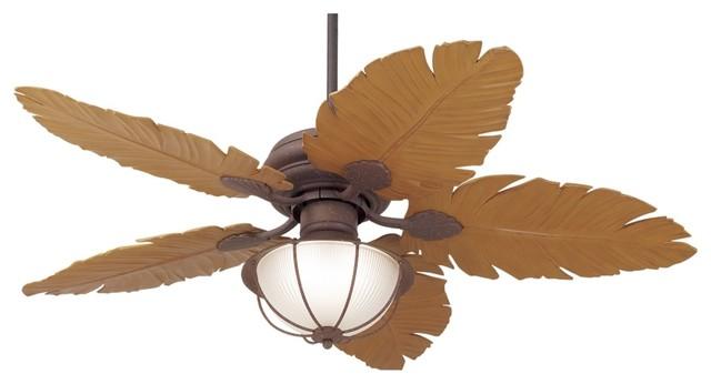 52 Casa Vieja® Tropical Leaf Ceiling Fan