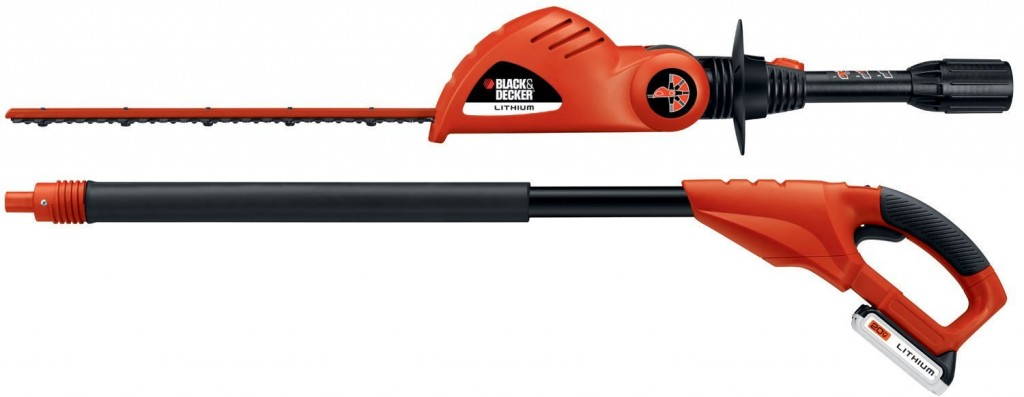 BLACK & DECKER 8 in. 20-Volt Cordless Lithium-ion Pole Saw - Battery and Charger Not Included