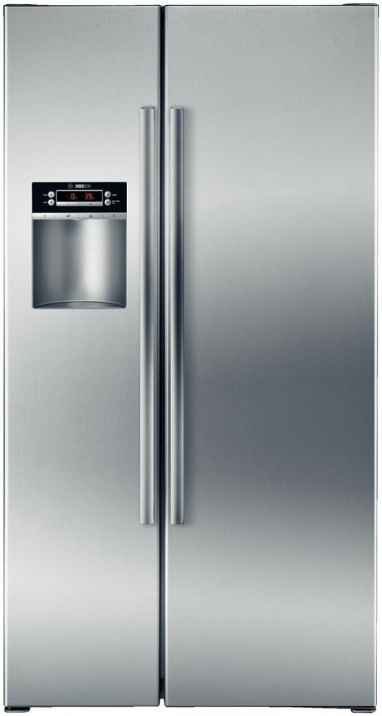 Bosch B22CS30SNS 300 22.1 Cu. Ft. Stainless Steel Counter Depth Side-By-Side Refrigerator - Energy Star