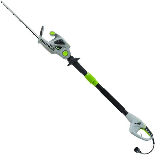 Earthwise 18 120V 2.8-Amp 2-in-1 Convertible Electric Pole Hedge Trimmer