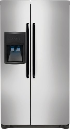 Frigidaire 26 cu. ft. Side by Side Refrigerator in Stainless Steel