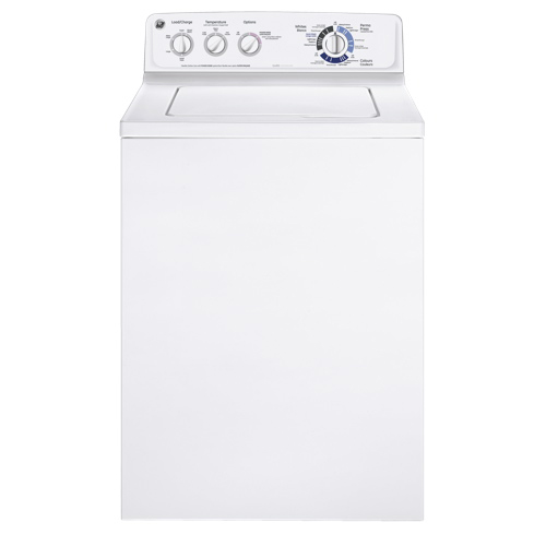 GE 4.3 cu. ft. Top-Load Washer, White, GTAP1800DWW