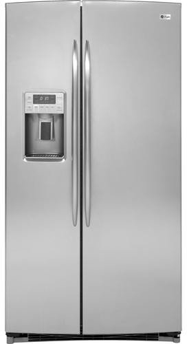 GE Adora 25.9 cu. ft. Side by Side Refrigerator in Stainless Steel
