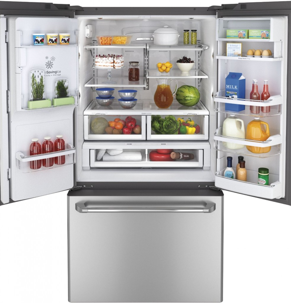 GE Profile 28.6 cu ft French Door Refrigerator (Stainless Steel) ENERGY STAR