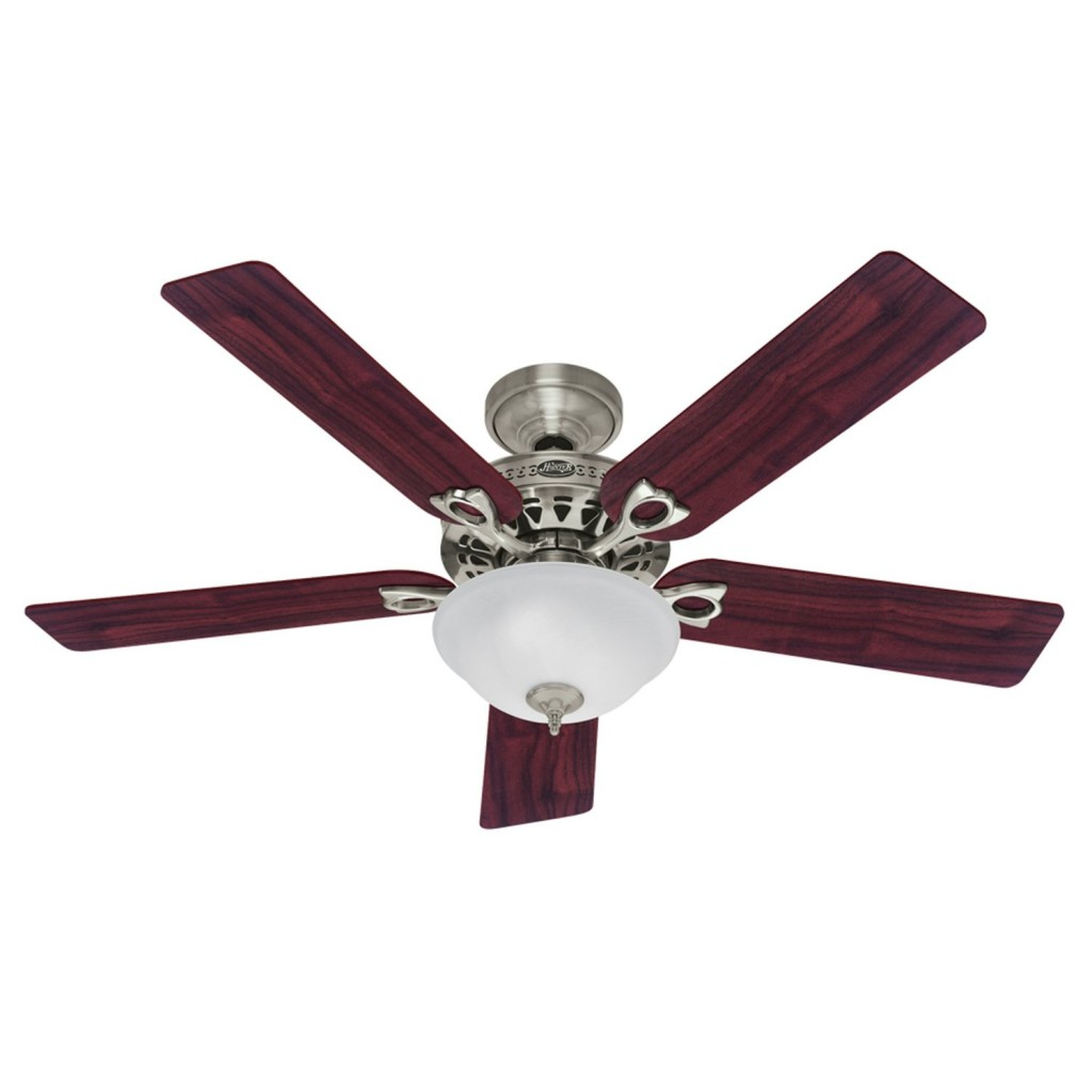 Hampton Bay Springview 52 inches Brushed Nickel Ceiling Fan 750809