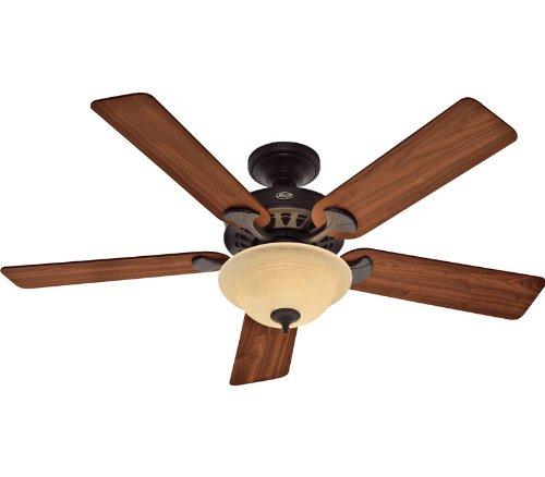 Hunter 21434 Sonora 52-Inch 5-Blade Single Light Ceiling Fan
