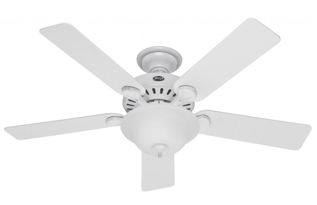 Hunter 28722 Pro's Best 52-Inch 5-Blade Single Light Five Minute Ceiling Fan