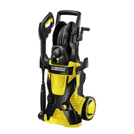 Karcher X-Series featuring the Industry's First Water Cooled Induction Motor 2000PSI Electric Pressure Washer with 25-Foot Hose and Hose Reel, K5.540