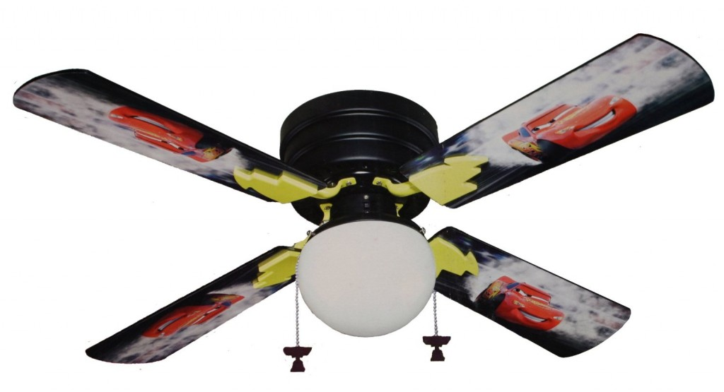 Lightning McQueen ceiling fan