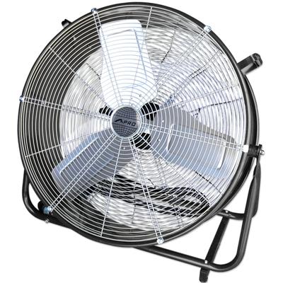 MPro 24-Inch Large High Velocity Industrial Warehouse Fan, Rolling Drum Fan, 7700 CFM