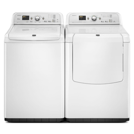 Maytag® 5.3 cu. Ft. Top-Load Washer – White