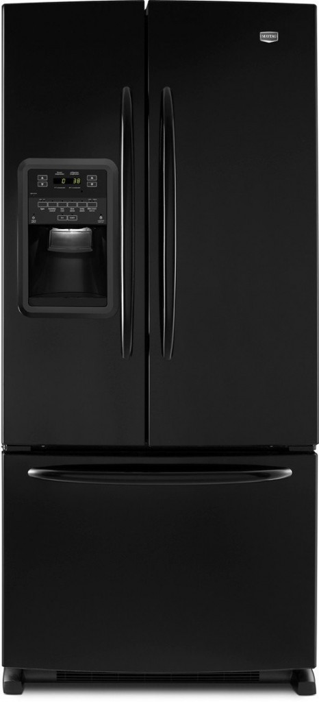 Maytag 33 in. W 22.0 cu. ft. Side by Side Refrigerator in Monochromatic Stainless Steel