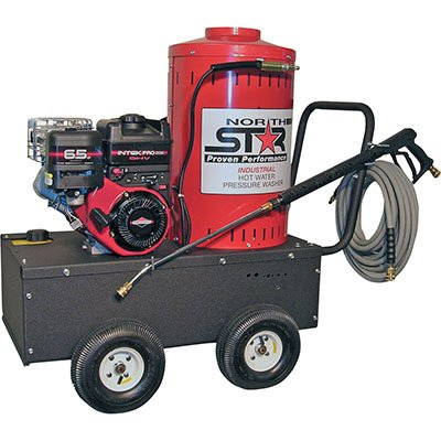 NorthStar Gas-Powered Wet Steam & Hot Water Pressure Washer — 2700 PSI, 2.5 GPM