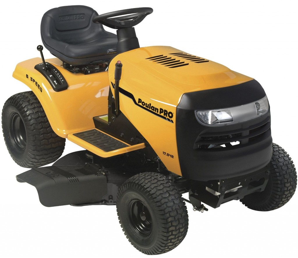 Poulan Pro PB17542LT 17.5 HP 6-Speed Lawn Tractor, 42-Inch