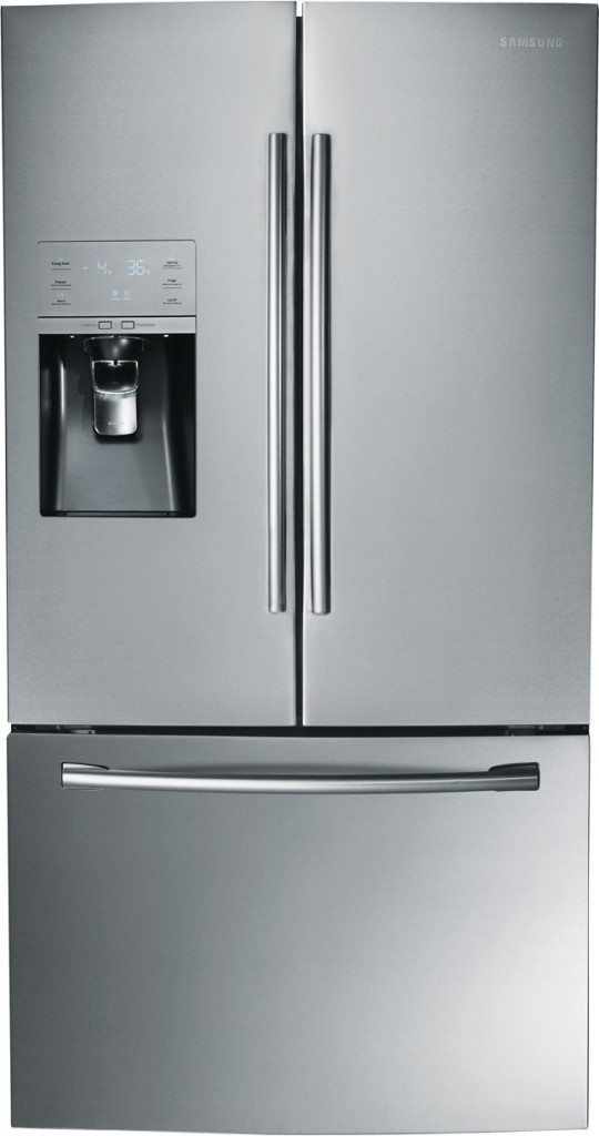 Samsung 25.6 cu. ft. Side by Side Refrigerator in Stainless Steel