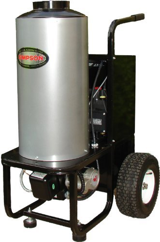 Simpson Mini-Brute MB1223 1,200 PSI 120 Volt Electric Diesel Powered Hot Water Heavy Duty Pressure Washer
